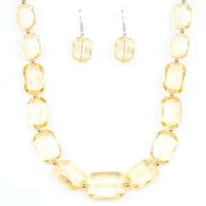 💍 5 for $25 sale! 💍 Yellow Necklace